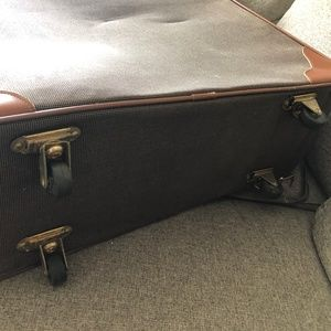 COACH Suitcase - Brown Travelweave